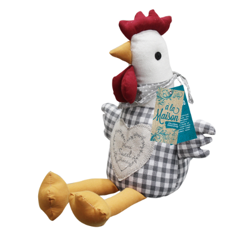 Chicken Heavy Weight Door Stop 24.5cm - A La Maison Bonningtons